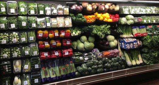Comptoir de légumes